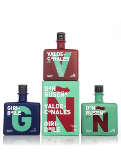 Estuche de 3 Botellas Gama Premium Aceites de Rus